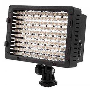 Neewer CN-160 Torche vidéo 160 LED pour appareils photo reflex numériques Canon, Nikon, Pentax, Panasonic,SONY, Samsung et Olympus de la marque Neewer image 0 produit