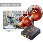 Neoteck RCA vers HDMI Convertisseur AV CVBS vers HDMI Adaptateur Composite HDMI 1080P pour PC Tablette Xbox PS3 TV STB VHS VCR Lecteur DVD Projecteur de la marque Neoteck image 1 produit