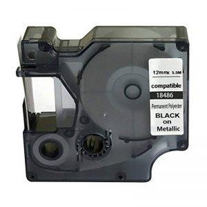 Neouza Compatible pour DYMO Rhino industriel IND Permanent polyester Label Tape Longueur 18' de la marque Neouza image 0 produit