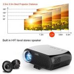 NewPal GP100up Projecteur 3500 Lumen LED Projecteur avec Android 6.01 WiFi Bluetooth Home Cinéma with Beamer Miracast Airplay de la marque NewPal image 3 produit