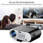NewPal vidéo projecteur 3200 Lumens android led projecteur avec Wifi Bluetooth pour home cinéma projecteur beamer de la marque NewPal image 2 produit