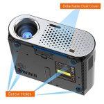 NewPal vidéo projecteur 3200 Lumens android led projecteur avec Wifi Bluetooth pour home cinéma projecteur beamer de la marque NewPal image 4 produit