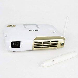 NIERBO Videoprojecteur Interactif, Mini Projecteur 3D Full HD,4K Projecteur Rechargeable 15000mAh Batterie Android WiFi Bluetooth?Tableau interactif Projecteur de la marque NIERBO image 0 produit
