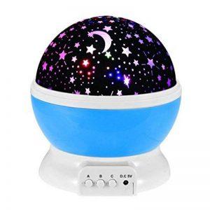 Night Lights pour enfants, Saihui rotatif Ciel étoile Cosmos Nuit romantique Vidéoprojecteur lumineux lampe Home Decor de la marque Saihui image 0 produit