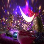 Night Lights pour enfants, Saihui rotatif Ciel étoile Cosmos Nuit romantique Vidéoprojecteur lumineux lampe Home Decor de la marque Saihui image 1 produit