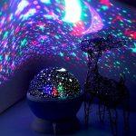 Night Lights pour enfants, Saihui rotatif Ciel étoile Cosmos Nuit romantique Vidéoprojecteur lumineux lampe Home Decor de la marque Saihui image 2 produit