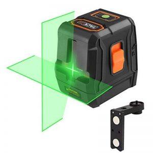 Niveau Laser Vert Tacklife SC-L07G Classique Croix 30m/Laser Vert et Lumineux/Grand Angle de 110°/Verrouillable/Support Magnétique Rectangulair/Trou de Vis 1/4 in de la marque Tacklife image 0 produit