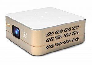 [Nouveau] Mini Projecteur WiFi VPRO1 Android - Pico Videoprojecteur Haute Résolution avec Wifi, Bluetooth, USB et HDMi - Home Cinéma de poche de la marque TecTecTec! image 0 produit