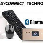 [Nouveau] Mini Projecteur WiFi VPRO1 Android - Pico Videoprojecteur Haute Résolution avec Wifi, Bluetooth, USB et HDMi - Home Cinéma de poche de la marque TecTecTec! image 3 produit