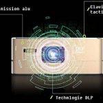 [Nouveau] Mini Projecteur WiFi VPRO1 Android - Pico Videoprojecteur Haute Résolution avec Wifi, Bluetooth, USB et HDMi - Home Cinéma de poche de la marque TecTecTec! image 4 produit
