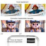 【Nouvelle Version】ABOX Vidéoprojecteur Portable LED LCD Projecteur HD 1080p, Mini Soutien Dolby Audio HDMI USB VGA AV SD, Retroprojecteur(Cordon HDMI Offre) T22 de la marque GooBang-Doo image 2 produit