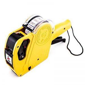 numérique à 8chiffres Prix Étiqueteuse Tag Gun MX5500EOS avec étiquettes d'autocollant et recharge d'encre pour bureau, magasin de vente au détail, les Ranger, organisation Marquage par Super Z prise de courant de la marque Super Z Outlet image 0 produit