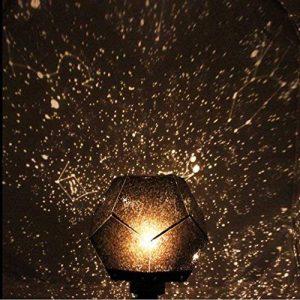 Nuohuilekeji romantique Galaxy Vidéoprojecteur étoile Ciel étoilé Cosmos Nuit lampe lumiere DIY Kit cadeau de la marque Nuohuilekeji image 0 produit