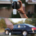 Nut Mini Tracker GPS Bluetooth Key Anti Perdu Télécommande et Smart Alarm Tracer Wallet Key Searcher Localisation en temps réel pour iPhone / iPad / Samsung Android Smartphone, Blanc de la marque PoWise image 3 produit