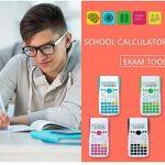 NWYJR Calculatrice de fonctions scientifiques multifonctions, Calculatrice spécifique au test, Calculatrice de fonction étudiante de la marque NWYJR Calculatrice image 2 produit