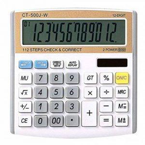 NWYJR Calculatrice solaire, Calculatrice électronique numérique à 12 chiffres, Calculatrice de bureau pour bureau / école / magasin de la marque NWYJR Calculatrice image 0 produit
