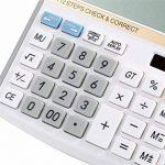 NWYJR Calculatrice solaire, Calculatrice électronique numérique à 12 chiffres, Calculatrice de bureau pour bureau / école / magasin de la marque NWYJR Calculatrice image 2 produit