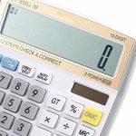 NWYJR Calculatrice solaire, Calculatrice électronique numérique à 12 chiffres, Calculatrice de bureau pour bureau / école / magasin de la marque NWYJR Calculatrice image 3 produit