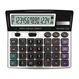 NWYJR Grande calculatrice de bureau, calculatrice solaire de bureau de puissance double, calculatrice d'affichage de 14 chiffres pour le magasin d'école de bureau, etc. de la marque NWYJR Calculatrice image 0 produit
