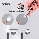 O³ Jouet interactif Chat - 2 Poiteur lumineux + 1 boule de Matatabi Cadeau - Lampe Led 2 en 1 - Exercices pour chat - Norme CE de la marque O³ image 1 produit