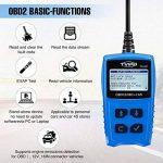 OBD2 Diagnostic device Auto Tvird Universal Diagnostic Scanner pour tous les véhicules à partir de 2000 avec protocoles OBD II / interface OBD-II standard à 16 broches / test de batterie Lecteur de co de la marque Tvird image 3 produit