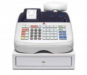 Olivetti ECR 6800 Transfert thermique 400PLUs VFD caisse enregistreuse - caisses enregistreuses (Transfert thermique, VFD, 1 lignes, 6,1 kg, 328 x 425 x 284 mm) de la marque Olivetti image 0 produit