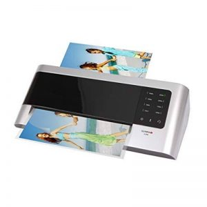 Olympia A 2048 Plastifieuse format max. DIN A 4 (230 mm), température: froid/reglable, plastifie sans support, Noir/Argenté de la marque Olympia image 0 produit