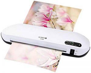 Olympia A 2250 laminateur de bureau (75-250 microns, design moderne, laminage à chaud et à froid, plastifieuse professionnelle, laminateur pour documents et photos jusqu' au format A4) Blanc de la marque Olympia image 0 produit