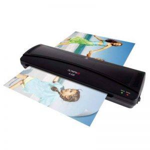 Olympia A 330 Plastifieuse format max. DIN A 3 (330 mm), chaud froid, 6 pochettes incluses (3 x DIN A 4 et 3 x DIN A 5), Noir de la marque Olympia image 0 produit