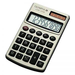 Olympia LCD1110S Calculatrice Argent de la marque Olympia image 0 produit