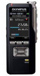 Olympus DS-3500 Carte flash Noir dictaphone - Dictaphones (Quality Play (QP), Standard Play (SP), DSS,MP3,WAV, 306 h, 200-5000 Hz, LCD, 176 x 220 pixels) de la marque Olympus image 0 produit