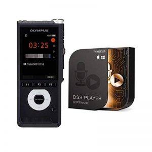 Olympus V741030BE000 DS-2600 Dictaphone avec lecteur DSS standard (Mac & PC), batterie Li-ion LI-92B KP30 Câble micro USB, CS151 Sac de transport Argent de la marque Olympus image 0 produit