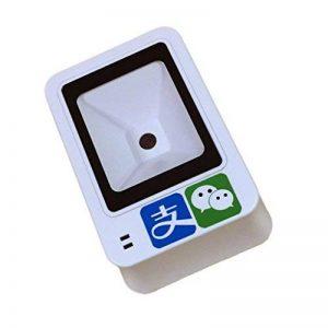 omnidirectionnel Barcode Scanner Bureau Haute Vitesse Lecteur de Codes-Barres 1d/2d Scan paiement Box avec Câble USB pour supermarché Vente au Détail Entrepôt de la marque Maikrt image 0 produit