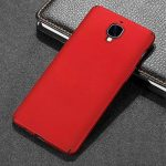 One Plus 3T/OnePlus 3 Coque + Protecteur d'écran en verre trempé, [Ultra Mince & Léger] Anti-Rayures Étui en plastique, Anti empreintes digitales Housse, entièrement protecteur dur Case -Rouge de la marque Tmusik image 1 produit