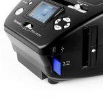 oneConcept 179B Scanner pour numérisation de diapos et films négatifs • Solution pour scanner sans ordinateur • Pour films 35 mm et photos 9 x 13, 10 x 15 et 13 x 18 cm • Jusqu'à 10 MP par interpolation • Éclairage avec 3/14 LED lumineuses blanches de la image 2 produit
