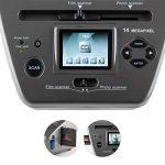 oneConcept 979GY Combo Scanner de photos • Diapo indépendant de l'ordinateur • Capteur CMOS 14 mégapixels • 14MP SD USB • Traitement directement sur l'appareil • 9 x 13, 10 x 15 et 13 x 18 cm, négatif 35 mm • Cartes de visite de la marque OneConcept image 1 produit