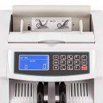 oneConcept Buffett Compteuse compteur de billets (détecteur de faux billets, 1000 billets x minute, fonction liasse, 3 modes de contrôle : UV, IR, magnétique, toutes monnaies) - blanc de la marque OneConcept image 4 produit