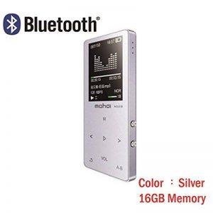 Original en métal écran tactile Bluetooth lecteur MP3 16 Go intégrée Haut-parleur Mini lecteur de musique avec radio FM Enregistreur vocal e-book de la marque J&R image 0 produit