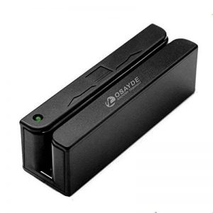 OSAYDE® MSR90 Mini lecteur de carte magnétique Hi-Co jusqu'à 3 bandes et connexion USB de la marque Osayde image 0 produit