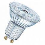 OSRAM LED SUPERSTAR PAR16/Spot LED, Culot GU10, Dimmable, 7,2W Equivalent 80W, 220-240V, Angle : 36°, Blanc Chaud 2700K, Lot de 1 pièce de la marque Osram image 1 produit