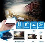 OTHA Mini Vidéoprojecteur, Pico Projecteur Portable Android Home Cinéma, 32GB De Mémoire, Entrée HDMI sur PC Portable PS4, Ajustement Automatique des Trapèzes Bluetooth Projecteur de la marque OTHA image 3 produit