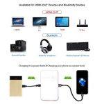OTHA Mini Vidéoprojecteur, Pico Projecteur Portable Android Home Cinéma, 32GB De Mémoire, Entrée HDMI sur PC Portable PS4, Ajustement Automatique des Trapèzes Bluetooth Projecteur de la marque OTHA image 4 produit