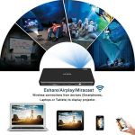 OTHA Mini Vidéoprojecteur, Pico Projecteur Portable Android 7.1 DLP Projecteurs, 1080p Full HD Home Cinema avec WiFi Bluetooth Entrée HDMI pour iPhone/Android/Gaming/Laptop/TV Box de la marque OTHA image 3 produit