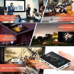OTHA Videoprojecteur, Mini Projecteur Portable Andorid 7.1 Pico DLP Vidéoprojecteurs 1080P Full HD Home Cinema avec USB /WiFi /Bluetooth/HDMI-in pour Miroir iPhone/Android/PC/PS4 Jeux de la marque OTHA image 4 produit