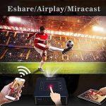 OTHA Vidéoprojecteur Wifi, Mini Projecteur Portable Android 7.1 & RAM de 2Go, Vidéoprojecteur LED DLP de Cinéma Maison 4K Lecture, 200 Lumens ANSI, Supporte le codec H.265 et dispose d'une Entrées HDMI de la marque OTHA image 1 produit