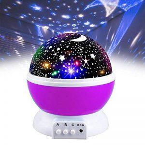 Our Day Nos Jour Lumière de Nuit Lune étoile Vidéoprojecteur Rotation à 360° Unique Meilleur Cadeau pour Enfants de la marque Our Day image 0 produit