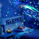Our Day Nos Jour Lumière de Nuit Lune étoile Vidéoprojecteur Rotation à 360° Unique Meilleur Cadeau pour Enfants de la marque Our Day image 1 produit