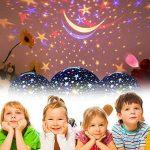 Our Day Nos Jour Lumière de Nuit Lune étoile Vidéoprojecteur Rotation à 360° Unique Meilleur Cadeau pour Enfants de la marque Our Day image 2 produit