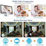 OWSOO 16CH Canal Complet CIF H.264 HDMI P2P Nuage Réseau DVR enregistreur Vidéo numérique + 1 TB Disque Support Audio Enregistrement Téléphone Contrôle Motion Detection Email Alarme PTZ de la marque OWSOO image 2 produit