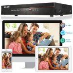 OWSOO 4 canaux canal complet 960H/D1 H.264 HDMI P2P nuage réseau DVR enregistreur vidéo numérique + 1 to HDD support Audio enregistrement téléphone contrôle Motion Detection Email alarme PTZ de la marque OWSOO image 2 produit
